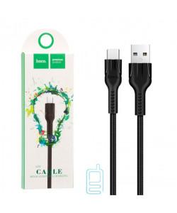 USB кабель Hoco U31 ″Benay″ Type-C 1m черный