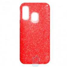 Чехол силиконовый Shine Samsung A40 2019 A405 красный