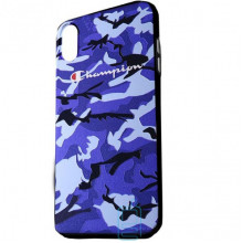 Чехол Creative TPU+PC Apple iPhone X, XS Champion blue
