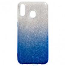 Чехол силиконовый Shine Samsung M20 2019 M205 градиент синий