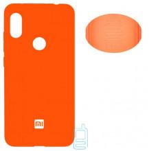 Чехол Silicone Cover Full Xiaomi Redmi Note 6, Note 6 Pro оранжевый