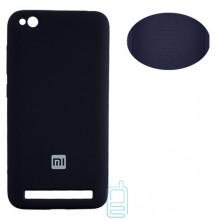 Чехол Silicone Cover Full Xiaomi Redmi 5A черный