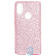 Чехол силиконовый Shine Xiaomi Redmi S2, Y2 розовый