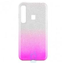 Чехол силиконовый Shine Samsung A9 2018 A920 градиент фиолетовый