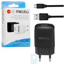 Сетевое зарядное устройство Meizu YJ-06 1USB 2.0A micro-USB black