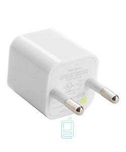 Сетевое зарядное устройство Apple кубик 1.0A white тех.пакет