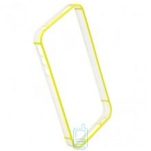 Чехол-бампер Apple iPhone 4 Vser желтый