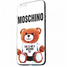 Чехол Creative TPU+PC Apple iPhone 6 Plus, 6S Plus Moschino white