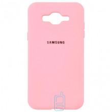 Чехол Silicone Case Full Samsung J2 Prime G532, G530 розовый