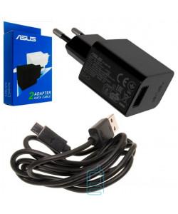 Сетевое зарядное устройство ASUS 2in1 5.2V 1.35A 1USB micro-USB black