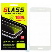 Защитное стекло Full Screen Huawei Honor 6C Pro white Glass