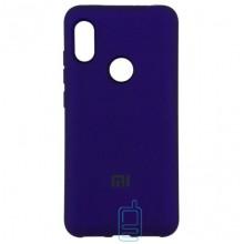 Чехол Silicone Case Full Xiaomi Mi 8 фиолетовый