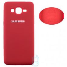 Чехол Silicone Cover Full Samsung J2 Prime G532, G530 красный