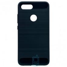 Чехол силиконовый Polished Carbon Xiaomi Mi 8 Lite черный
