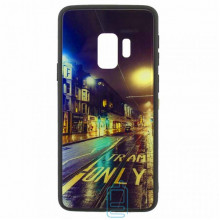 Чехол накладка Glass Case New Samsung S9 G960 дорога