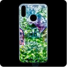 Чехол силиконовый Garden Huawei Y7 2019 домики