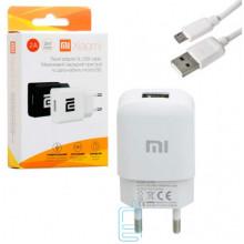 Сетевое зарядное устройство Xiaomi YJ-06 1USB 2.0A micro-USB white