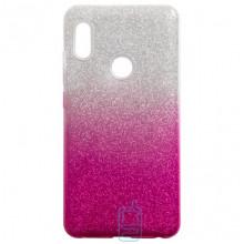 Чехол силиконовый Shine Xiaomi Redmi Note 5, Redmi Note 5 Pro градиент розовый