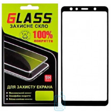 Защитное стекло Full Screen Samsung A7 2018 A750 black Glass