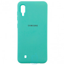 Чехол Silicone Case Full Samsung M10 2019 M105 бирюзовый