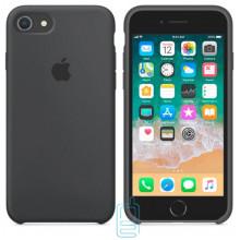Чехол Silicone Case Apple iPhone 6 Plus, 6S Plus темно-серый 15