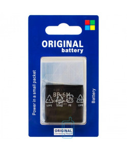 Аккумулятор Nokia BP-6M 1100 mAh 3250, 6151, 6233 AA/High Copy блистер