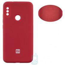 Чехол Silicone Cover Full Xiaomi Redmi 6 Pro, Mi A2 Lite красный