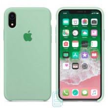 Чехол Silicone Case Apple iPhone XR светло-бирюзовый 17