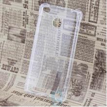 Чехол силиконовый Xiaomi Redmi 3X, 3S, 3S Pro, 3 Pro усиленный прозрачный