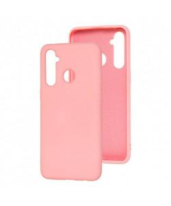 Силиконовый Чехол Realme 5 – Full Cover (Розовый)