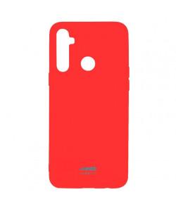 Чехол силиконовый Realme 5 – Smtt (Красный)