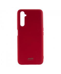 Чехол силиконовый Realme 6 Pro – Smtt (Красный)
