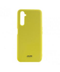 Чехол силиконовый Realme 6 Pro – Smtt (Желтый)