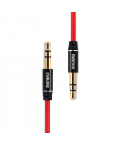 AUX Кабель 3.5mm Remax RL-L100 – 1 м (Красный)