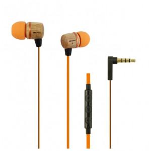 Наушники AWEI ES-16Hi с Микрофоном – Деревянные