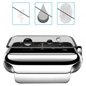 3D Стекло Apple Watch 44mm – Full Glue (полный клей)