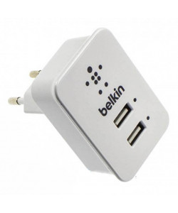 СЗУ Belkin 2USB 2.1A+1A F8J053EttWHT (Белый)