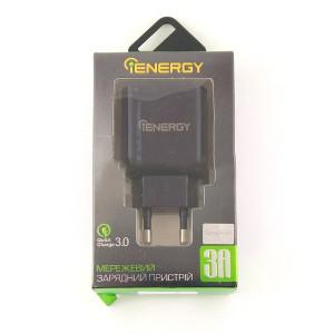 CЗУ iEnergy QuickCharge 3.0 (3A - 1USB)