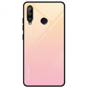 Чехол Huawei Honor 10i  градиент TPU+Glass