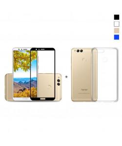 Чехол + 3D Стекло Huawei Honor 7X