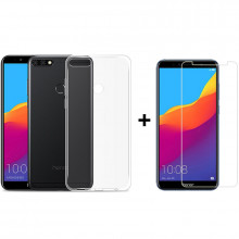 "Чехол + Стекло Huawei Honor 7C Диагональ: 5.99"" (Комплект)"