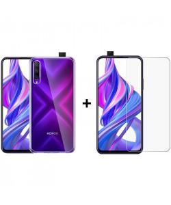 Комплект: Чехол + Стекло Huawei Honor 9X Pro