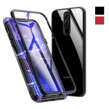 Магнитный чехол для Huawei Mate 20 lite Magnetic Case – OneLounge Glass