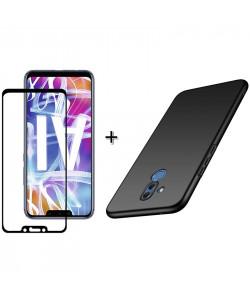 Бампер + 3D Стекло Huawei Mate 20 Lite – Black (Комплект)