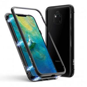 Магнитный чехол для Huawei Mate 20 pro Magnetic Case – OneLounge Glass