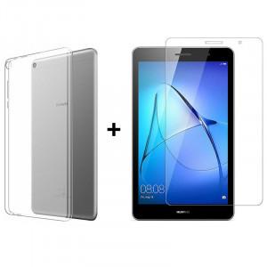 Комплект: Чехол + Стекло Huawei Mediapad T3 7' 3G