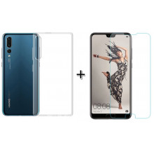 Чехол + Стекло Huawei P20 – Комплект