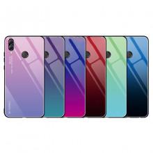 Чехол Huawei P Smart Plus (Nova3i) градиент TPU+Glass