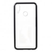 Чехол Magnetic With Glass For Huawei Nova 3i / P Smart Plus