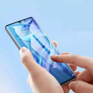 3D Стекло для Huawei P30 Lite ( С ультрафиолетовым клеем )